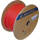Canare LV-61S 75 Ohm Coaxial Video Cable RG-59 Type (Red, 500'/153m)