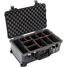 Pelican 1510TP Carry-On Case with TrekPak Divider System (Black)