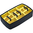 Pelican Divider Set for 1510 Case (Yellow and Black)