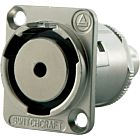Switchcraft EH35MMSSC 3.5mm Stereo Panel Mount Jack (Nickel)