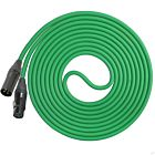 Performance Audio Professional Mogami W2534 XLR-XLR Microphone Cable (50', Green)