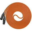 Performance Audio Professional Mogami W2534 XLR-XLR Microphone Cable (50', Orange)