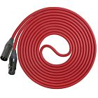 Performance Audio Professional Mogami W2534 XLR-XLR Microphone Cable (50', Red)
