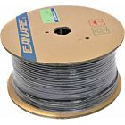 Canare L-3.3CUHD 75 Ohm Coaxial Cable for 12G-SDI 12G-SDI UHD Video (Black, 328'/100m Spool)