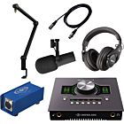 Shure SM7B Microphone with Podcasting Ultimate Bundle