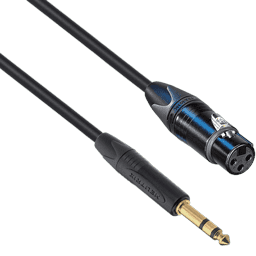"1/4"" TRS to XLR Cables"