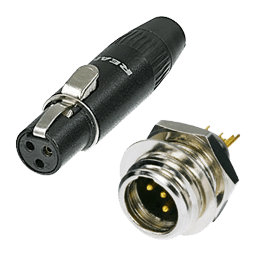 Mini XLR Connectors