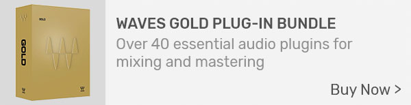 Waves Gold Mixing & Mastering Plug-In Bundle (Download)