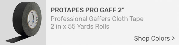 ProTapes Gaffers Tape 2-inch