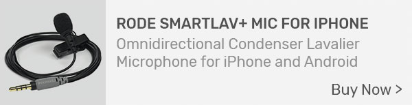 Rode smartLav+ Lavalier Microphone for iPhone