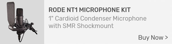 Rode NT1 Kit Condenser Microphone with Shock Mount