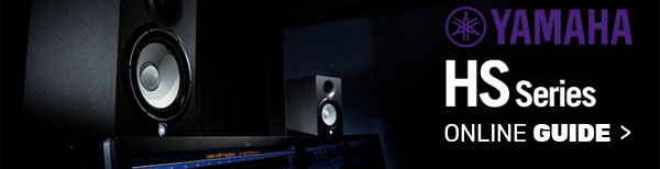 Yamaha HS Series Powered Studio Monitors
