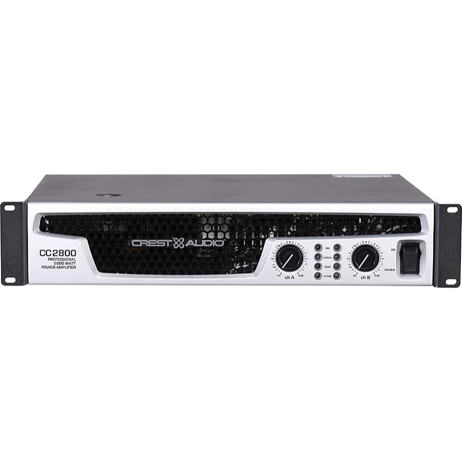Crest Audio Cc2800 Stereo Power Amplifier Live Touring 1500w Schematic Amplifiers Sound
