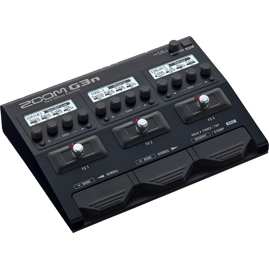 Zoom G3n Guitar Multi Effects Processor Jack Plate With Switch For Use Mesa Boogie Cabinets And More