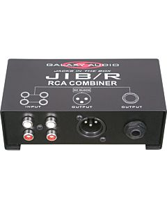 Galaxy Audio JIBR - RCA Combiner