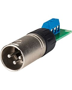 Rolls XLM113 Male XLR to Screw Terminal Adapter