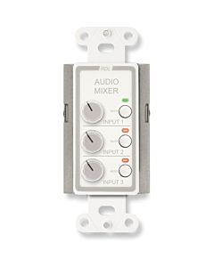Radio Design Labs D-RC3M Remote Audio Mixing Control with Muting (White)