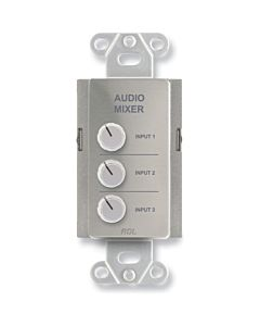 Radio Design Labs DS-RC3 Remote Audio Mixing Control (Stainless Steel)