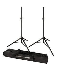 Ultimate Support JS-TS50-2 Pair of Tripod Speaker Stands with Free Bag