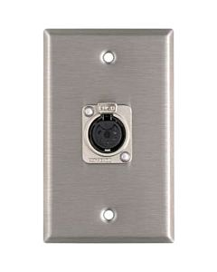 Horizon Pro Co WP1049 Female 5-Pin XLR Wallplate