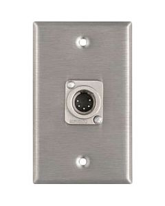 Horizon Pro Co WP1050 Male 5-Pin XLR Wallplate