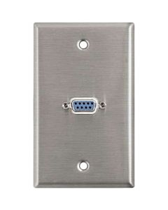 Horizon Pro Co WP1059 Female DB9 Serial Wallplate