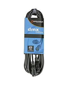 American DJ AC3PDMX25 3-Pin DMX Cable (25 ft.)