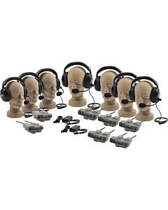 Pictured with 7 Dual Headsets