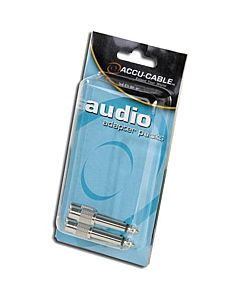 "American DJ ACQMRCAF Male 1/4"" to Female RCA Adapters (2 Pack)"