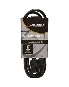 American DJ ECCOM-6 IEC Power Extension Cord (6 ft.)