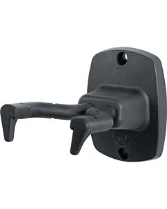 K&M Stands 16240 Guitar Wall Mount (Black)