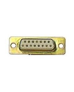 Whirlwind DSUB15CHF - Multi-D-Sub 15 Pin Connector (Female, Chassis)