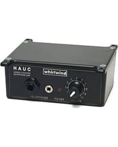 Whirlwind HAUC - Under Counter Active Stereo Headphone Amplifier