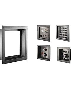 """Whirlwind WFF8x8x1B - Flush Mount Wall Frame for a 8"""" x 8"""" x 4"""" Recessed Electrical Box"""