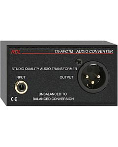 Radio Design Labs TX-AFC1M Unbalanced to Balanced Audio Transformer - RCA, XLR
