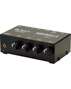Rolls MX51s Mini-Mix II 4-Channel Audio Mixer