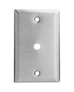 "Lowell MCP14 - Punched Wall Plate (.375"" Hole)"