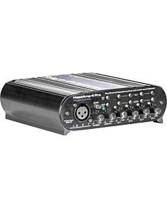 ART HeadAMP 4 Pro - Five Channel Headphone Amplifier with Talkback