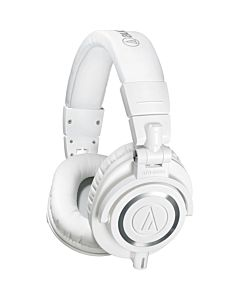 Audio-Technica ATH-M50xWH Professional Monitor Headphones (White)