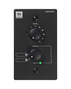 JBL CSR-2SV Wall-Mounted Remote Control for CSM Mixers (Black)
