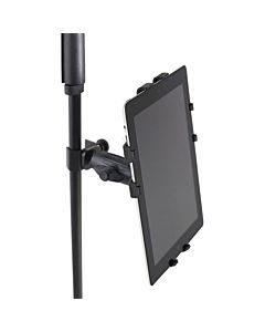 Gator Cases GFW-UTL-TBLTCLMP iPad Tablet Tray with Adjustable Clamp Mount