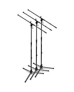 On-Stage MSP7703 - Euroboom Mic Stand (3 Pack)