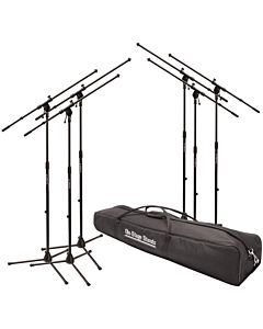 On-Stage MSP7706 - Euroboom Mic Stand (6 Pack)