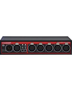 Swisson XSR-5B-US RDM & DMX Splitter (Box)