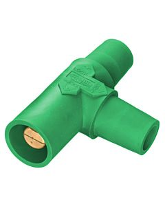 Hubbell Cam Lock Tapping T (Green)