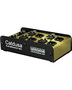Whirlwind Catdusa - Snake - Box, 4 Channel, XLRF/XLRM Pairs, Cat5e Ethercon I/O