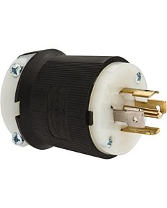 Whirlwind Hubbell L21-20 Inline Male AC Connector