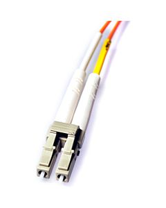 Whirlwind OC-2-M-LC-LC-003 - 3' Duplex Multimode Fiber Optic Cable; LC to LC