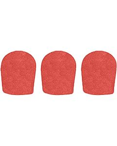 WindTech 900 Series Windscreen (3 Pack, Tangerine)