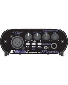 ART MyMonitorII Personal Monitoring Solution - Mic/Line Mixer